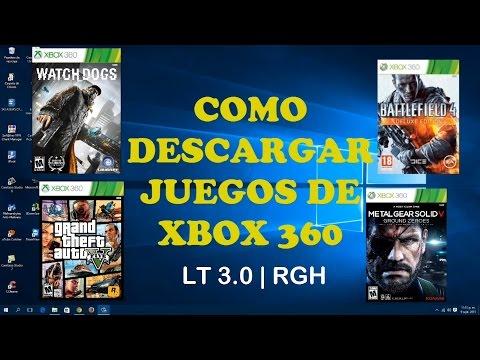 Como Descargar Juegos de XBOX 360 para LT 3.0 | RGH MEGA | 2015