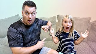 Handcuffed to my DAD for 24 HOURS!
