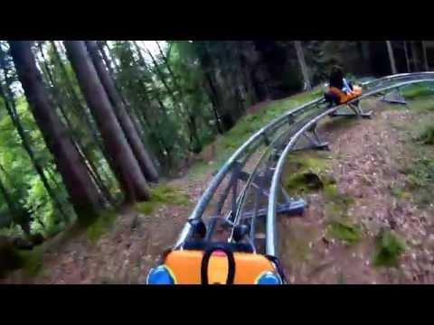 Sommer RodelBhan Alpine Coaster - Oberammergrau - Tuesday 16th - Gitup Git2