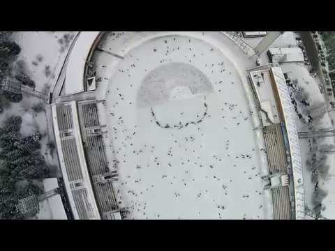 Медео с высоты птичьего полета, Алматы - Казахстан  2015 г. (dji phantom 2 Vision + )
