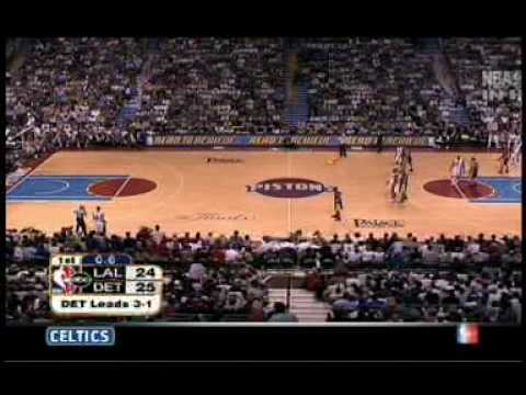 2004 NBA Finals Gm 5 Los Angeles @ Detroit Part 3/11