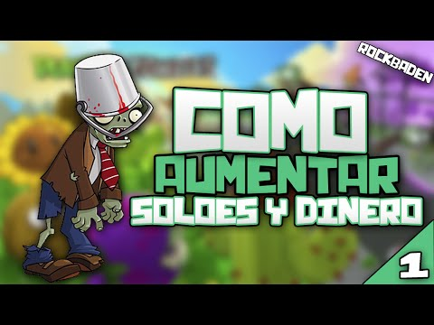 Plantas Vs Zombies como aumentar Soles y Dinero (Cheat engine 6.1)