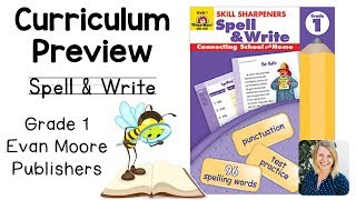 Curriculum Preview || 1st Grade Spell & Write