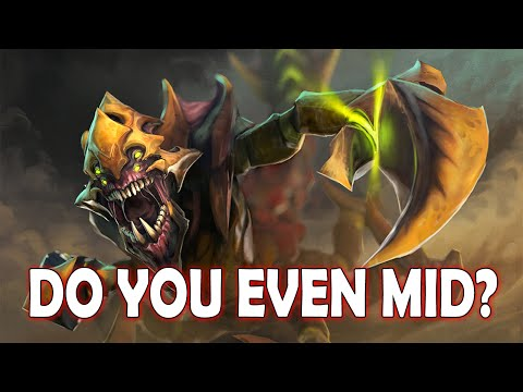 Dota 2 Sandking | DO YOU EVEN MID!?