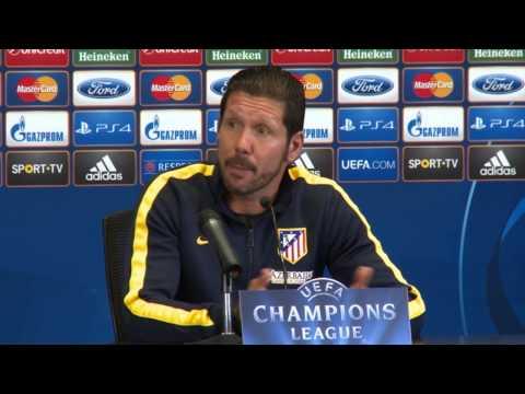 Diego Simeone hofft immer noch auf verletzten Diego Costa | Real Madrid - Atletico Madrid