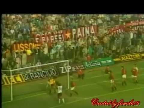 Milan-Torino 1-0 (Di Bartolomei) del 20.10.1985 stadio