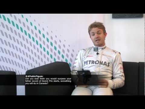 Nico Rosberg Twitter Fan Q&A