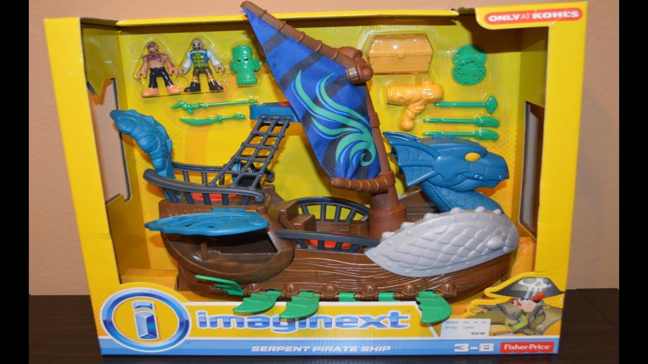 Imaginext Serpent Pirate Ship Imaginext Serpent Pirate Ship
