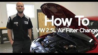 How To: VW 2.5L Air Filter Replacement for Jetta, Golf, Passat, or Sportwagen | Eich Motor Company