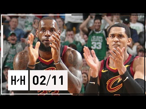 Jordan Clarkson Official Cavaliers Debut, Full Highlights vs Celtics (2018.02.11) - LeBron Approves!