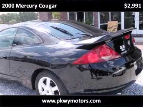 2000 Mercury Cougar Used Cars Panama City FL