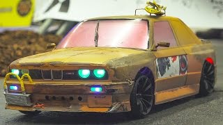 FANTASTIC RC DRIFT CAR RACE MODEL ACTION!! RC BMW M3 *OLD STYLE
