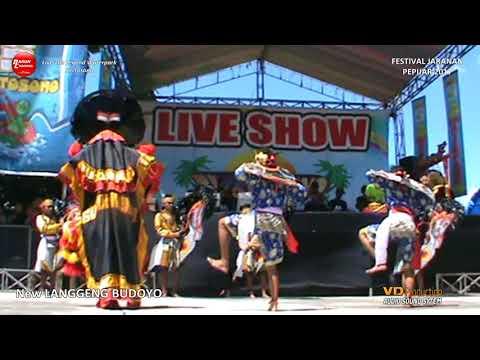 New LANGGENG BUDOYO Festival Jaranan Pepijar Live Waterpark Kertosono 2017