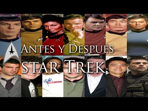 Antes y despus de la tripulacin del USS Enterprise // Star Trek into Darkness // en la oscuridad