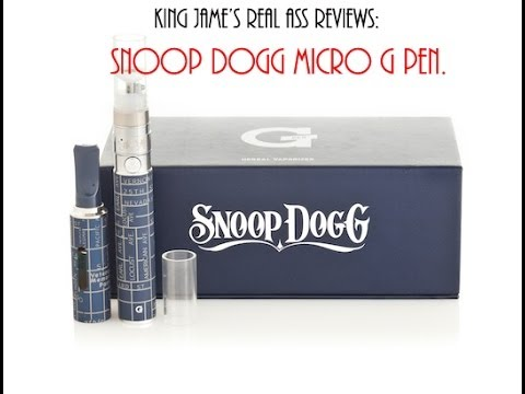 Real ass reviews- Snoop Dogg Micro G pen vaporizier