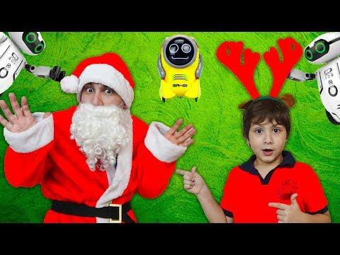 Санта Клаус НАСТОЯЩИЙ? ДЕТИ ШПИОНЫ установили СКРЫТУЮ КАМЕРУ! Видео Для детей kids children