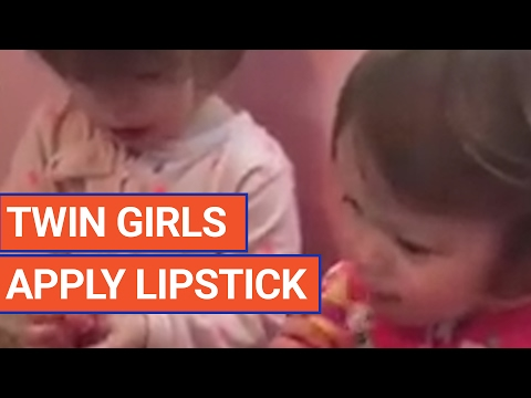 Twins Apply Lipstick Video 2017 | Daily Heart Beat