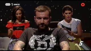 """Pressão no Ar - Ljubomir Stanisic: """"Comia de borla se fossem bons!"""" - 5 Para a Meia Noite"""
