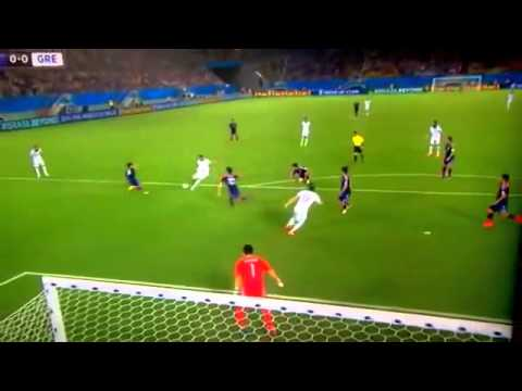 world cup 2014 Match 23 Japan vs Greece 0-0 Group C 19 06 14