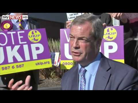 Nigel Farage On Europe, Immigration, Business & Donors