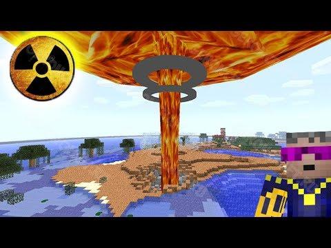 ЧТО БУДЕТ, ЕСЛИ ВЗОРВАТЬ ЦАРЬ БОМБУ МОЩНЕЕ 500 000 000 000 ТНТ | Моды на Minecraft 1.7.10 с Героном