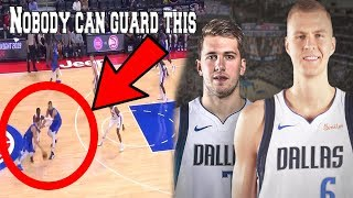 NOBODY told us this about Luka Doncic and Kristaps Porzingis (Ft. Dallas NBA Preseason Highlights)