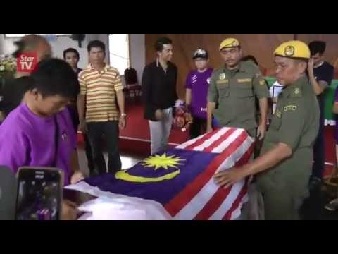 Sabah quake: Second mountain guide, Valerian Joannes, laid to rest