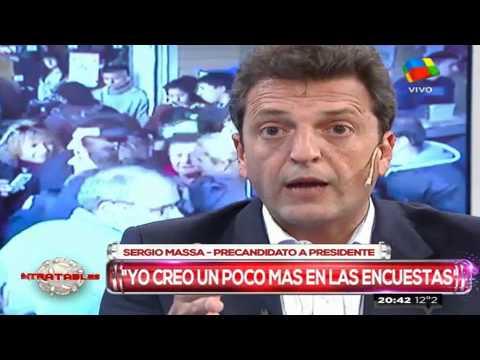 Massa dijo que no se alegra por el tropiezo de Macri