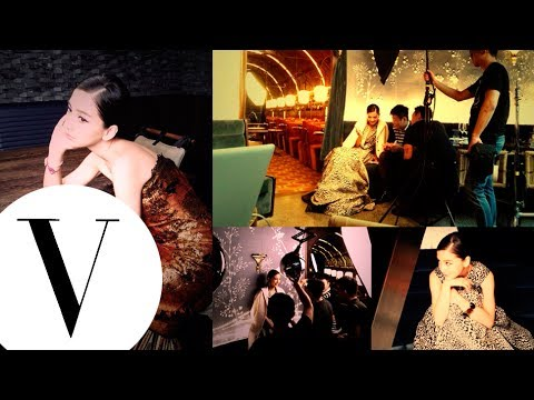 直擊Angelababy Vogue封面拍攝現場
