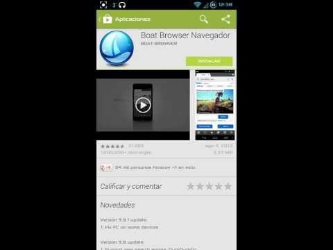 Galaxy S4 GT I9500 En la Playstore
