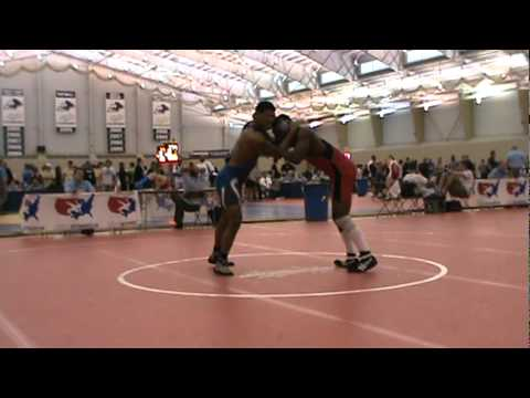 Crazy Wrestling/Throw Jump @ 2:15 (K Washington) Image 1