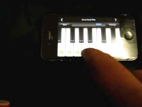Ek Haseena Thi On Iphone Piano video