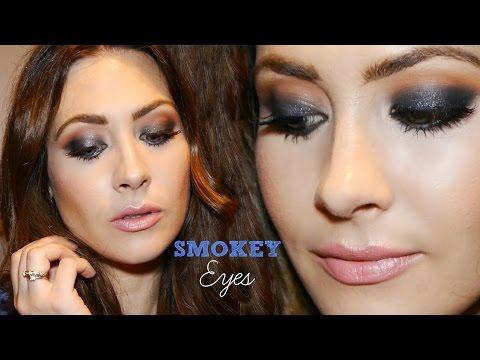 Tutorial Maquillaje Ojos Ahumados Fácil! ♥ Smokey Eyes!