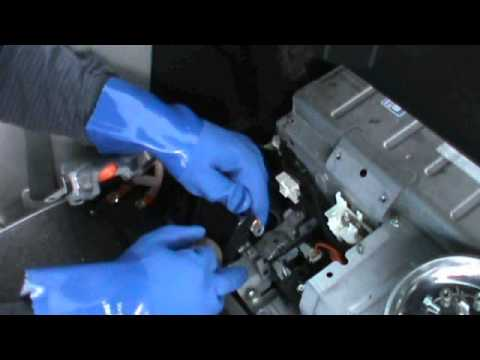 2007 Toyota Camry Hybrid Battery Replacement - YouTube