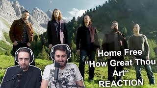 34 Home Free How Great Thou Art 34 Singers Reaction