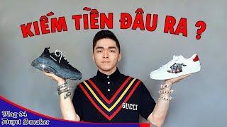 Duyet Sneaker kiếm tiền thế nào? Từ anh nhà quê đến những đôi giày hiệu   Vlog 94 - Duyet Sneaker