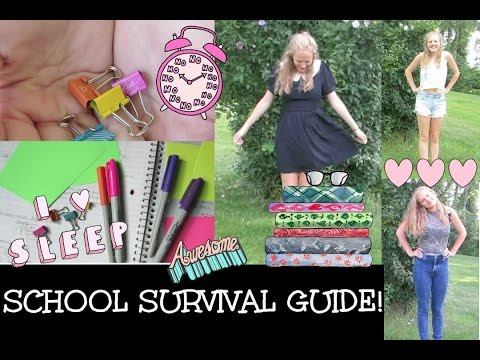 School survival guide: Organization, life hacks, and fashion! | Our Life in the Making