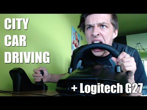City Car Driving + Logitech G27!