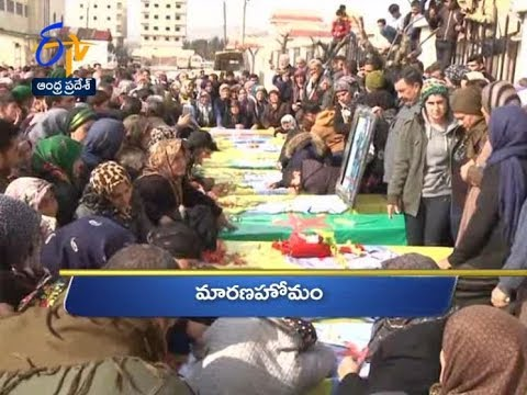 Andhra Pradesh | 20th February 2018 | Ghantaravam 10 PM News Headlines