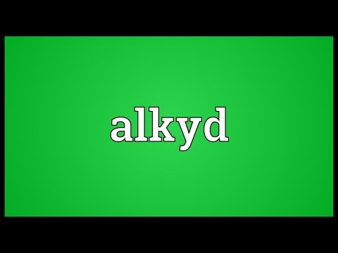 Header of alkyd