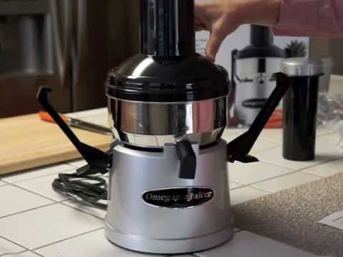 Omega Juicer...Big Mega Mouth BMJ330 New to Juicing $99