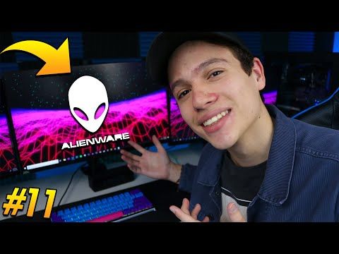 Road to My Dream Gaming Setup #11 | Alienware 240Hz Monitor