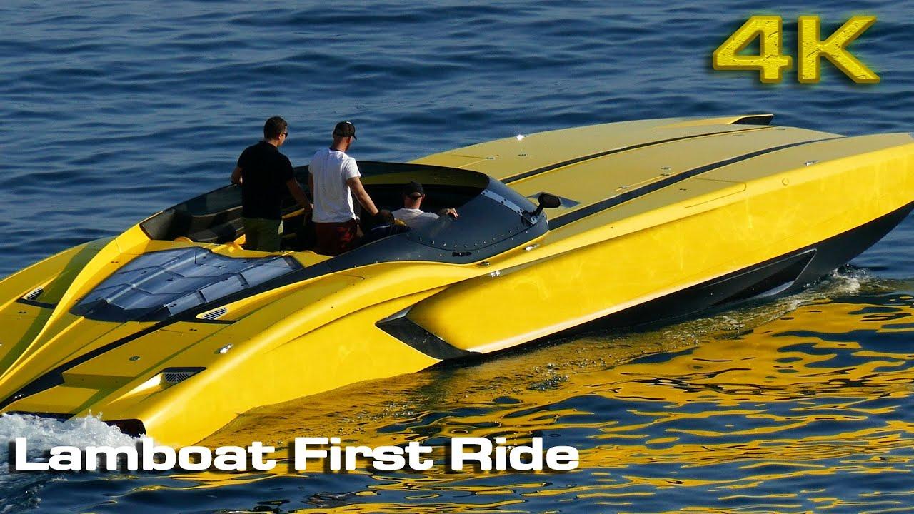 Lamborghini Aventaboat (Lamboat) ride at Spain