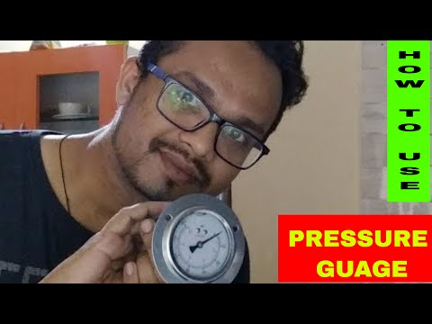 How To Use Pressure Guage For RO Check Pressure