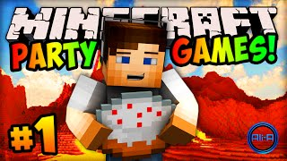 "Minecraft PARTY GAMES #1 - ""VOLCANO ERUPTION!"" w/ Ali-A"