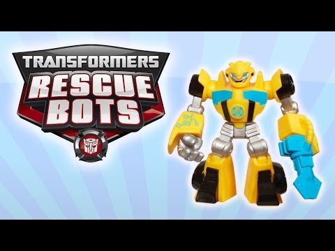 Transformers Rescue Bots toys Bumblebee for toddlers Playskool toy videos for children