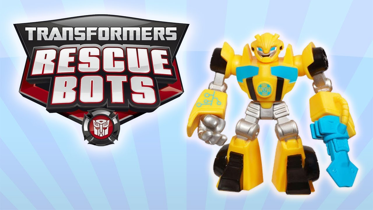 Rescue Bots Bumblebee Toy Transformers Rescue Bots Toys