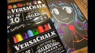 Review + GIVEAWAY: Versachalk Chalkboard Markers!