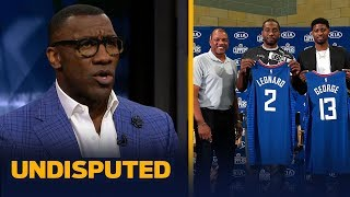 Shannon Sharpe reacts to Doc Rivers' comments that Kawhi handpicked Paul George | NBA | UNDISPUTED
