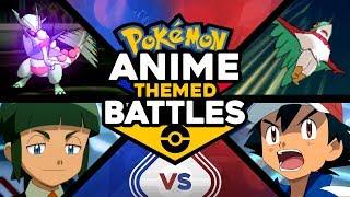 Ash vs Sawyer - Pokémon Anime Theme Battles #5